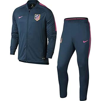 Nike ATM M Nk Dry Sqd TRK Suit K Chándal Atlético de Madrid ...