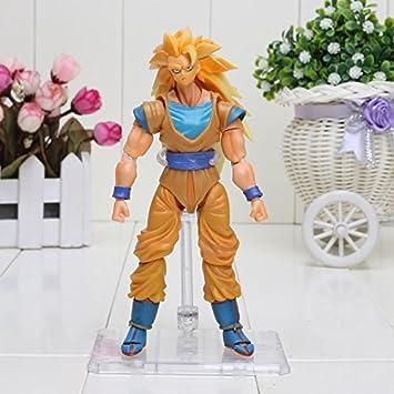 Amazon.com: 16 cm Dragon Ball Z Super Saiyan 3 Goku gokon ...