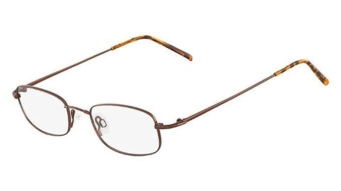 30f8cf9a66 Image Unavailable. Image not available for. Color  Flexon Flexon 603  Eyeglasses 218 Coffee ...