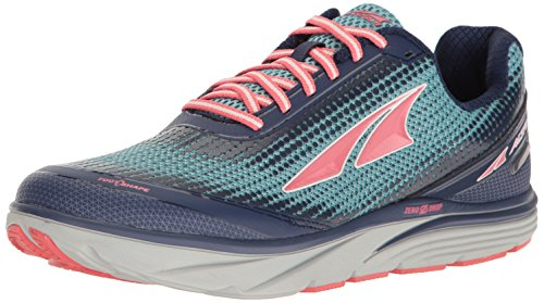 Altra Women's Torin 3.0 Road Running Shoe, Blue/Coral, 7 B US