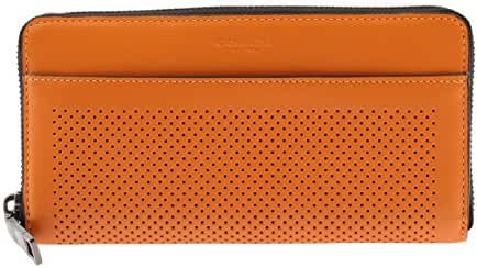 COACH ACCORDION WALLET IN PERFORATED LEATHER - F75222 ORG