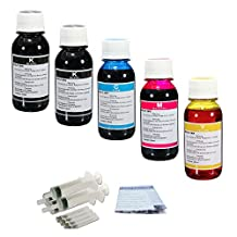 J2INK 500ml Refill ink for Canon Printer Cartridge PG-210 240 245 245XL CL-211 241 246XL Syringe Drill