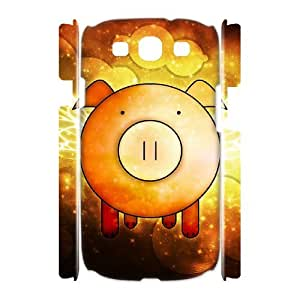 KSDHPNECASE Case Of Cute Pig Customized Gifts Hard Case For Samsung Galaxy S3 I9300