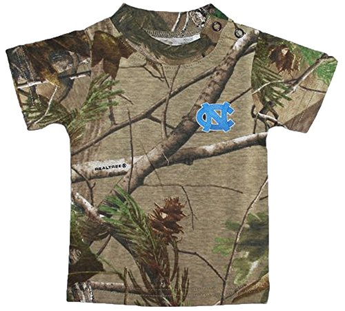 North Carolina Tar Heels Camouflage NCAA College Toddler Baby T-Shirt Tee (3 (North Carolina Tar Heels Camo)