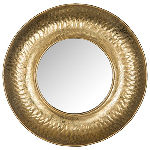 Safavieh Home Collection Foil Perugia Etruscan Mirror, (Etruscan Collection)