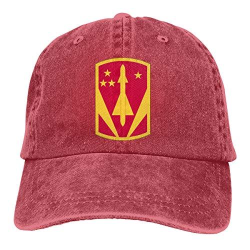 Adult Baseball Cap Denim Dad Hat Vintage Cowboy Trucker Cap US America 31st Air Defense Artillery Brigade