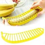 1 Pcs Banana Slicer Chopper Cutter for Fruit Salad Sundaes Cereal Kitchen Tools New Hot Selling