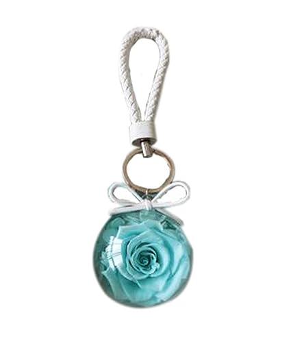 Llavero creativo de las flores de Rose Llavero elegante del ...