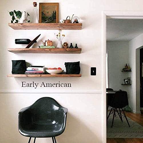 Amazon Com Hidden Bracket Floating Shelves Wood Floating Shelf Farmhouse Shelves Handmade