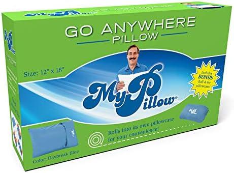 My Pillow As Seen On Tv Roll Goanywhere Travel Pillow Foam 1 Pk