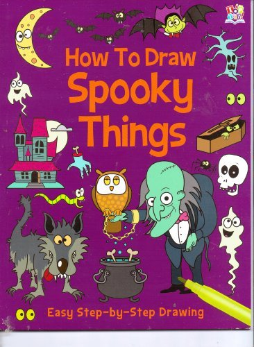 How to Draw Spooky Things (Easy Step-by-Step Drawing)]()