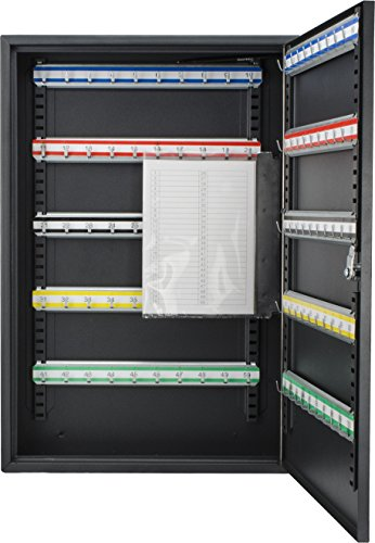 Barska 100 Position Key Cabinet with Key Lock, Black by BARSKA (Image #2)