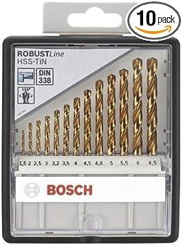 5mmx18mmx40mm 2 Pcs Bosch 2608585907 Metal Drill Bit Hss-G 1
