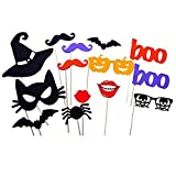 14 Pcs Baby Shower Photo Booth Props Kit for Birthday Party Favors Dress-up Costume