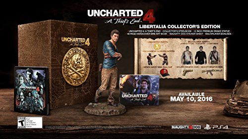 PS4 Uncharted 4: A Thief's End Libertalia Collector's Edition