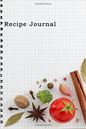 recipe journal spiral look notebook cooking journal lined and