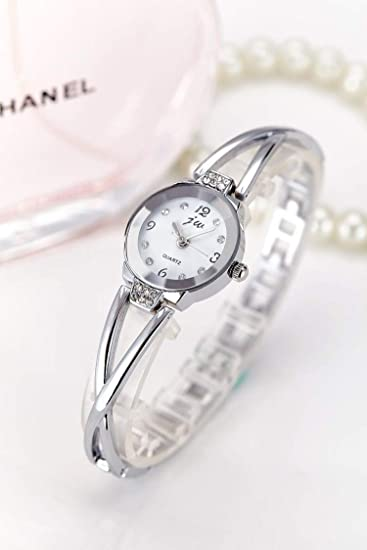 BranXin - New and New Fashion Rhinestone Watches Women Luxury Brand Stainless Steel Bracelet watches Ladies