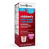 Basic Care Children's Pain Relief Cold, Cough