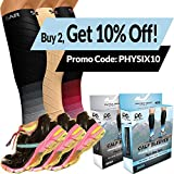 2 PAIRS Calf Compression Sleeve for Men