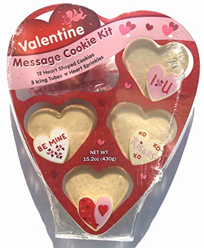 Create a Treat Valentines Message Cookie Decorating Kit, 15.2 -