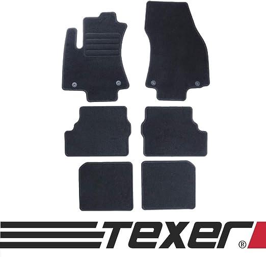 Carmat Texer Textil Fußmatten Passend Für Opel Zafira A 7 Sitzer Bj 1999 2005 Basic Auto