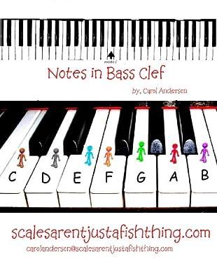 Bass Clef Piano or Cello Note Locator (Sight-reading Music)