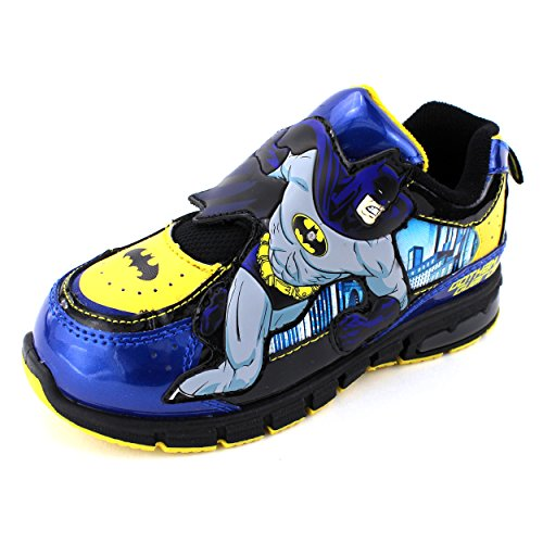 Batman Boys Lighted Sneakers Shoes