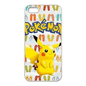 iphone5 5s phone cases White Pokemon fashion cell phone cases HYTE5053171