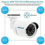 NTSC AHD CVI TVI 1080P Waterproof Outdoor CCTV Security Cam IR Night View P1F3