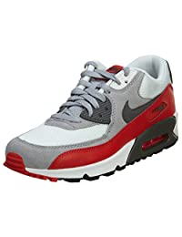Nike Air Max 90 Grey White Youths Trainers