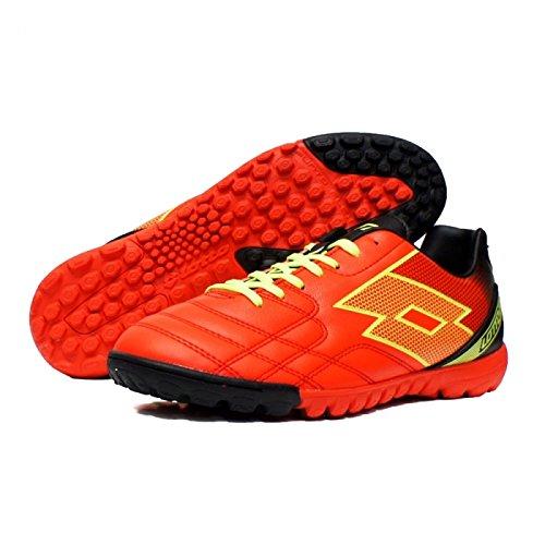 Lotto - Zapatillas de fútbol sala para hombre Rojo