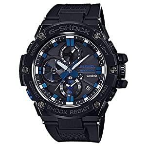G-Shock by Casio Men's G-Steel GSTB100BNR-1A X Blue Note Watch 10