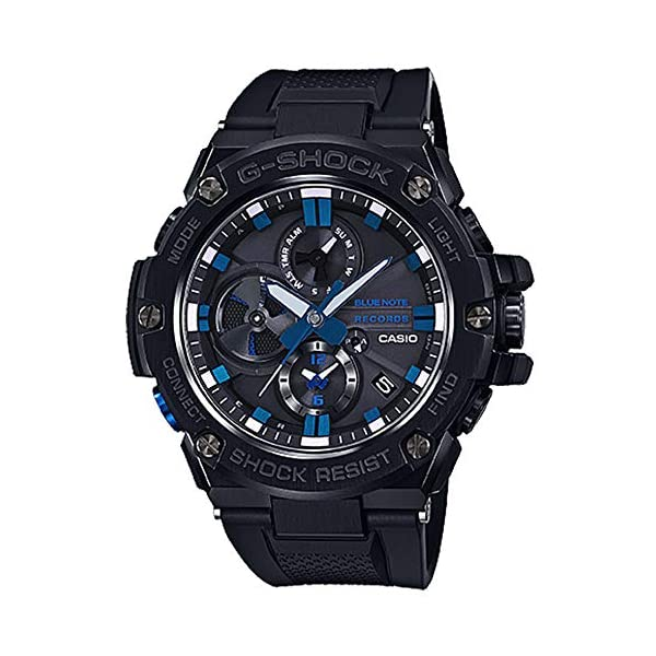 G-Shock by Casio Men's G-Steel GSTB100BNR-1A X Blue Note Watch 2