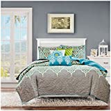 Madison Park MP13-1683 Nisha 6 Piece Quilted Coverlet Set
