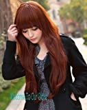 X&Y ANGEL Long Curly Waves Wig Cosplay Heat Resistant Spiral Costume Wigs