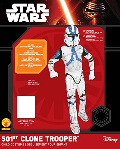 Star Wars Child's Clone Trooper Costume, Medium - http://coolthings.us