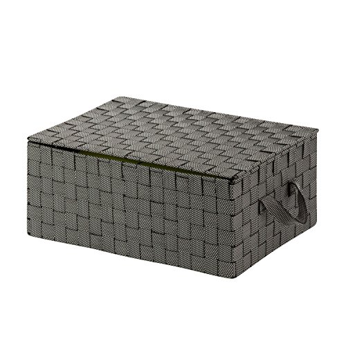 storage basket with lid - 1