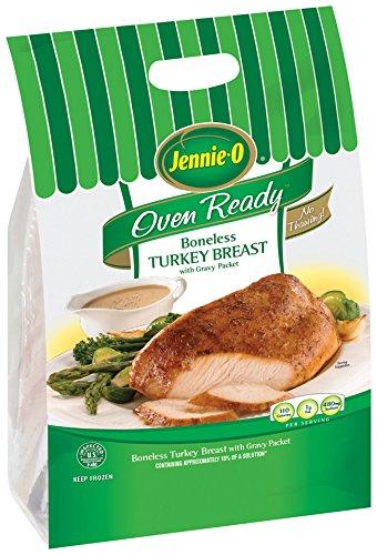 Hours to bake frozen turkey breast