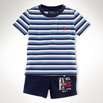 Polo Ralph Lauren - Camiseta - para bebé niño turquesa 24 meses ...
