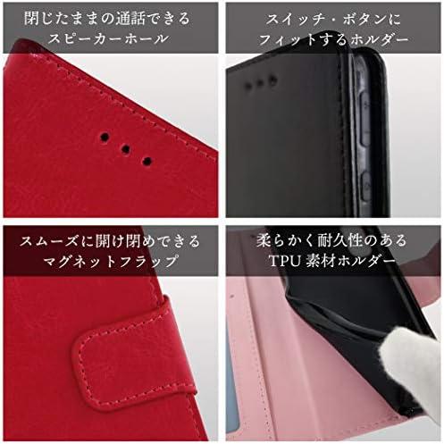 QuOKka iPhone SE 第2世代 手帳型 スマホケース SE2 iPhone8 iPhone7 対応 高級 PU レザー カラバリ 豊富 k10011 (ブラック)