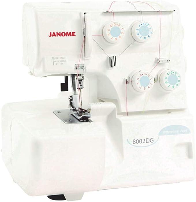 Janome 8002DG Overlocker: Amazon.es: Hogar
