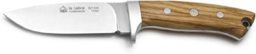 Puma Knives Puma LP La Cabra Knife with Blade, Brown, 4