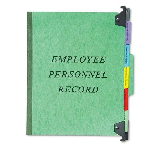PENDAFLEX SER2GR Hanging Personnel Folders, 1/3 Cut Top Tab, Letter, Green