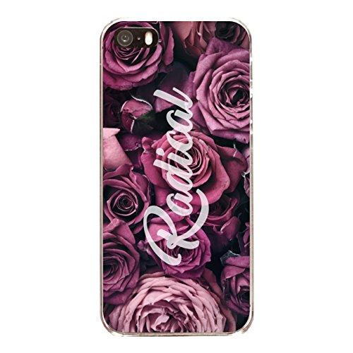 """Disagu Design Case Coque pour Apple iPhone 5 Housse etui coque pochette """"Rosen_Radical"""""""