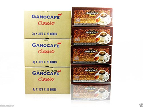 30 BOXES Gano Excel Cafe Classic Black Instant Coffee + FREE EXPRESS SHIPPING 2-3 DAYS (Cafe Express Cafe Mocha)