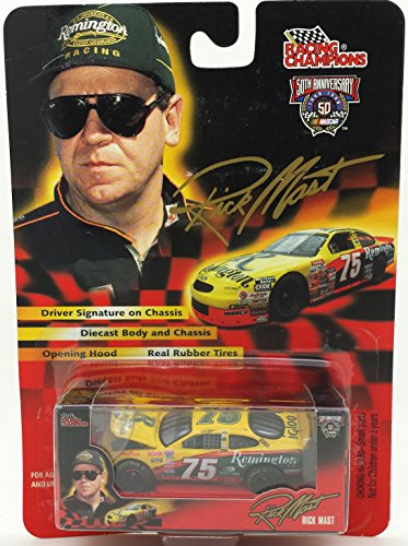 NASCAR Racing Collectible Rick Mast 75 Remington 1998 50th Anniversary Signature Driver Series Diecast Car