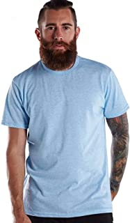 product image for US Blanks US2229 Men's Short-Sleeve Made in USA Triblend T-Shirt