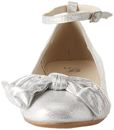 BATA 329227, Bailarinas con Correa de Tobillo Para Niñas Bianco