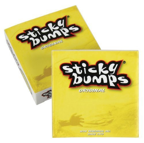 Sticky Bumps Tropical Surf Wax Box (Pack of 3), White by (Tropical Surf Wax)