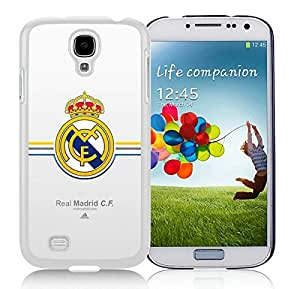 Beautiful Designed Case With Real Madrid White For Samsung Galaxy S4 I9500 i337 M919 i545 r970 l720 Phone Case